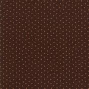 Moda - Spice It Up - 6613 - Spots on Dark Brown - 38056 18 - Cotton Fabric